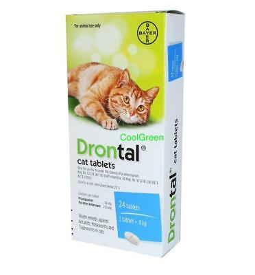 Drontal Cat Dewormer Bayer All worms Round & Tap Worm tablets EXP 8/2022