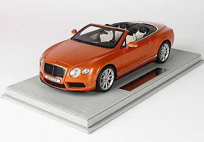 Bentley Continental Gt V8-S Cabriolet 2014 With Showcase BBR 1:18 P1887AV Model