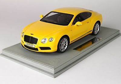 Bentley Continental Gt V8-S Coupe 2014 + Vetrina With Showcase BBR 1:18 P1886BV