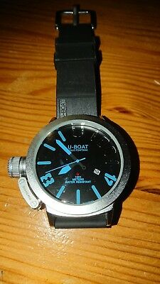 U-boat 1001 Blue Watch. Selling for a friend. I know nothing about these watche.