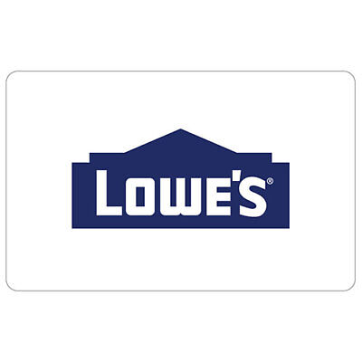 $100.00 Lowes Gift Card