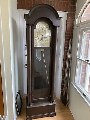 1920's Hershede Hall 5 Tube Grandfather Clock