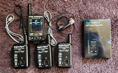 Paul C Buff Cyber Commander with 3 CyberSync™ Battery Powered Plus Receiver