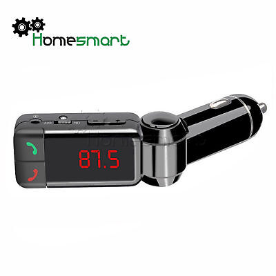 Transmitter Bluetooth Car Charger Radio Stereo MP3 Player Handsfree Calling AHS