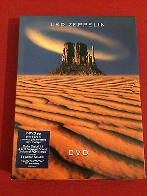 LED ZEPPELIN DVD (Doble / Two-disc set)