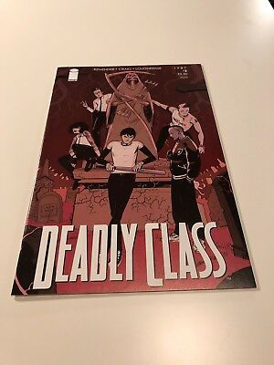 Deadly Class #3, Variant, 2nd Printing, Rare