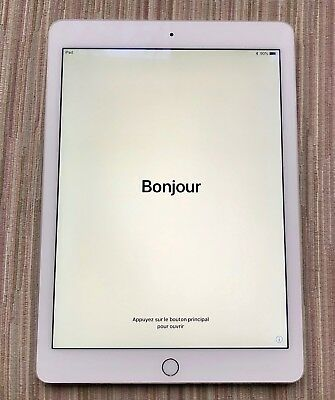 Apple iPad Air 2 128GB, Wi-Fi, 9.7in - White - Model A1566
