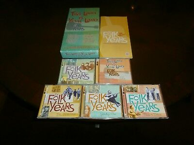 This Land Is Your Land: The Folk Years (10 CD Box Set With 145 Tracks) Time Life