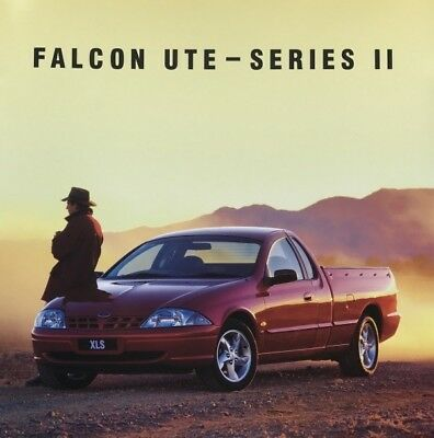 Ford Falcon AU Series II Ute Cab Chassis Sales Brochure