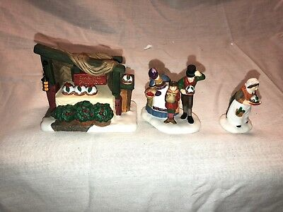 Department 56 Dickens' Village Series Christmas Pudding Costermonger 56.58408