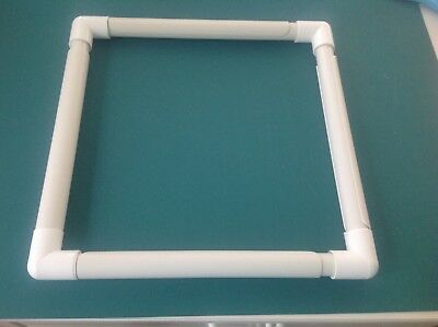 "12"" Q Snap Quilting/Embroidery Light Weight Frame Made With Pvc Tubing"