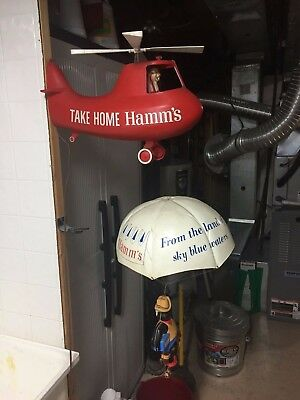 Hamms Beer Helicopter