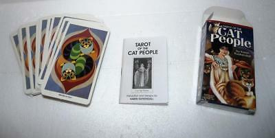 Tarot of the Cat People Cards Deck Karen Kuykendall With Instructions