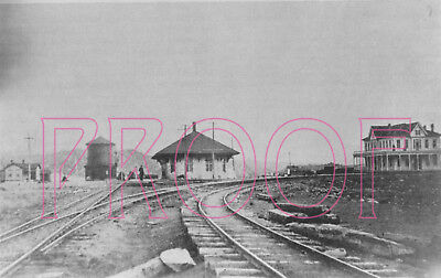 Denver, South Park & Pacific Track Junction with the RGS at Northrop, CO - 8x10