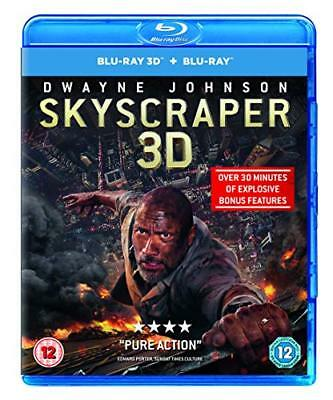 Skyscraper (3D Blu-ray + Blu-ray) [2018] [Region Free] -  CD G3VG The Fast Free