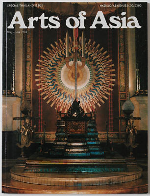 Arts of Asia magazine, May -June 1978, special Thailand issue