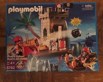 PLAYMOBIL 5782 PIRATE/'S HIDEOUT PALM OARS GROUND BRICK WALL COLUMN SCARF-CHOICE