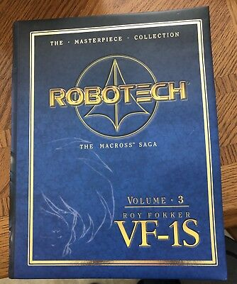 ROBOTECH MASTERPIECE COLLECTION VF-1S  Vol 3 ROY FOKKER *RARE*No. 16 of 15,000