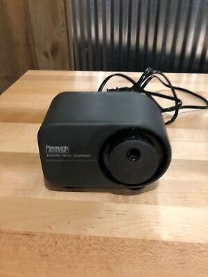 Panasonic Electric Pencil Sharpener Kp-350 With Auto Stop Works Great