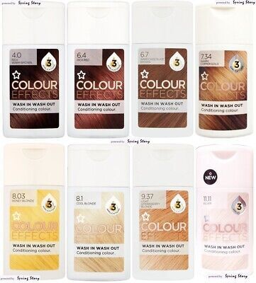Superdrug Conditioning Hair Color Effect Enhancing Shampoo Brown/Red/Gold/Blonde