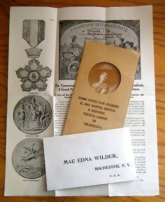 1910 Mae Edna Wilder Institute of Science Rochester NY Famous Mail Order Scam