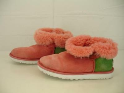 3cd8d2718a4 UGG AUSTRALIA MINI Bailey Bow Snake Genuine Shearling Fur #1005534 ...