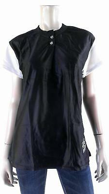Venus Blank Baseball Jersey Unisex Top Softball Sport Black DEALS