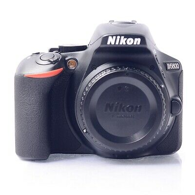 (Body Only) Nikon D5600 Digital Camera Without Lens Genuine _
