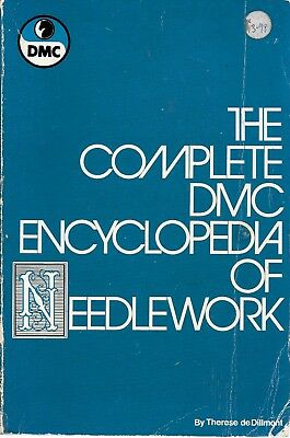 The complete DMC encyclopedia of needlework USED GC vintage 1978 2nd edition PB