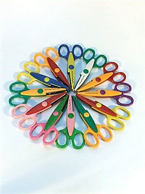 Brand New Craft Scissors - 12 Pack