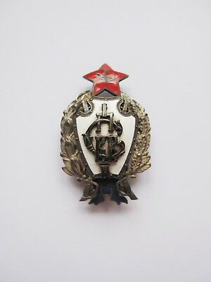 Imperial Russian silver badge, GRADUATION FROM FIRST SOVIET CAVALRY SCHOOL