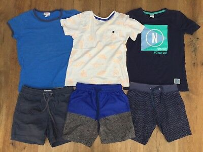 Boys Size 6 Summer Bundle - T-shirts & Shorts - Seed, Country Road, Target
