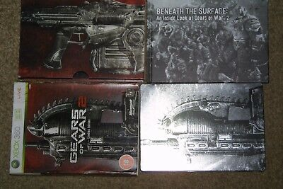 X Box 360 game Gears Of War 2 (collectors edition steel box)