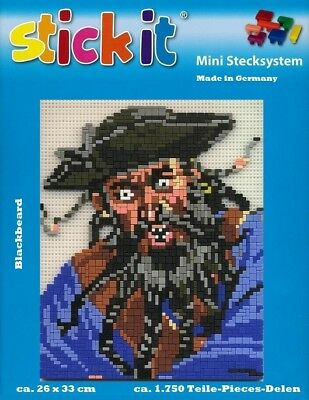 Mini Stecksystem Piraten Blackbeard  ca. 1.750 Teile Nr. 41196