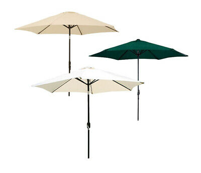 Garden Haven Parasol Umbrella with Crank and Tilt