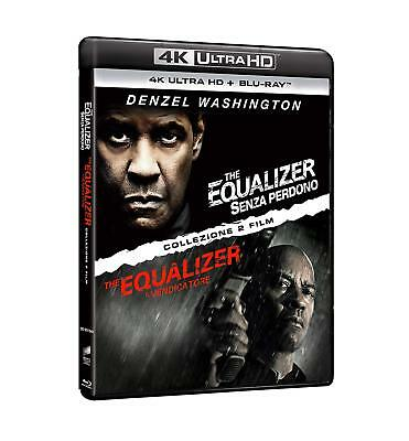 Film - The Equalizer - Collection - 4 Dvd (4k ultra hd -  blu-ray)