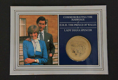 1981 Commemorative Crown Coin - Marriage of Prince Charles and Lady Diana.