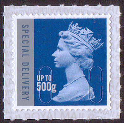 GB Royal Mail Special Delivery up to 500g machin stamp SG U3052 M18L PB-sL