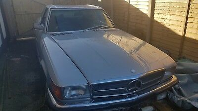 Barn Find Mercedes 350 SL 1979