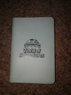 Chessington world of adventures Small Notepad form 1990