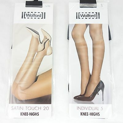 abff24e682846 Clothing, Shoes & Jewelry Satin Touch 20 Denier Knee Highs Wolford 312-06