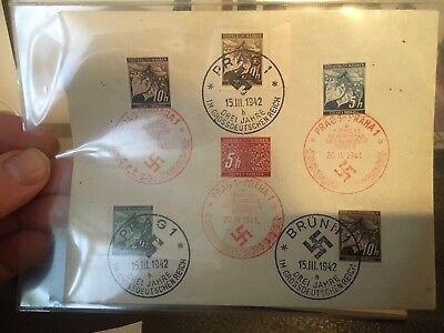 germany third reich stamps