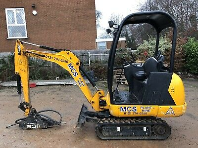 2017 Jcb 8014 Mini Digger 1.5 Ton Comes With 18 Months Jcb Warranty