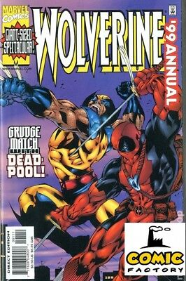 Wolverine Annual # 1999 Its Wolverine vs Deapool!-Verry rare