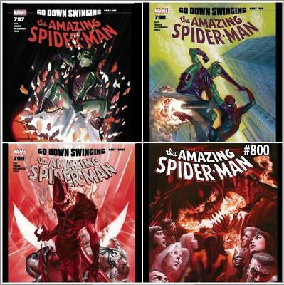 Amazing Spider-man# 797, 798,799, 800 - Complete set, Goblin - all first prints!