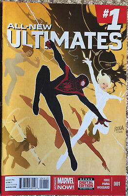 ALL NEW ULTIMATES issue #1 Marvel 2014 Michel Fiffe Amilcar Pinna first print