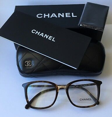 3e23c0f9525 Brand New 2018 Chanel Women Eyewear CH 3369 C714 Authentic Frame Glasses  Case S