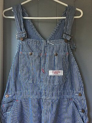 Vintage 70/80's Mens Overalls Dungarees Big Mac USA Workwear W36 Festival Wear
