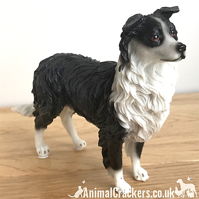 Border Collie Sheepdog Sheep Dog ornament sculpture figurine Leonardo gift boxed