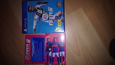 BRAND NEW sony ps4 fifa 19 playstation 4 fifa 19 sealed with ultimate team code